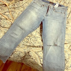 Banana Republic distressed jeans